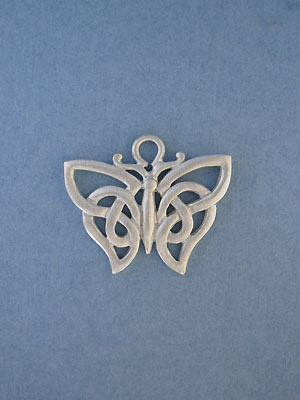 Celtic Butterfly Pendant - Lead Free Pewter