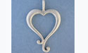 Plain Heart Pendant - Lead Free Pewter