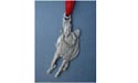 Galloping Horse Christmas Ornament - Lead Free Pewter