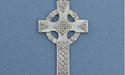 Celtic High Cross Christmas Ornament - Lead Free Pewter