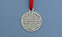 Celtic Protection Knot Christmas Ornament - Lead Free Pewter