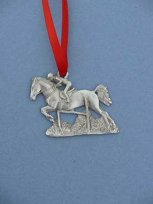 Jumper Christmas Ornament - Lead Free Pewter