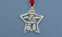 Inukshuk Christmas Ornament - Lead Free Pewter