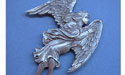 Angel Christmas Ornament - Lead Free Pewter