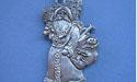 Saint Nick Christmas Ornament - Lead Free Pewter