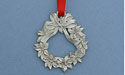 Pointsettia Christmas Ornament - Lead Free Pewter