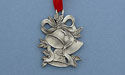 Christmas Bells Christmas Ornament - Lead Free Pewter