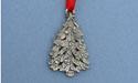 Christmas Tree Christmas Ornament - Lead Free Pewter