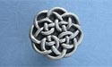 Round Celtic Drawer Knob - Lead Free Pewter