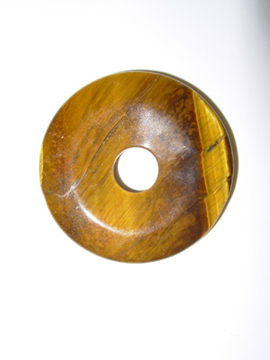 Tiger Eye - Natural Stone Donut