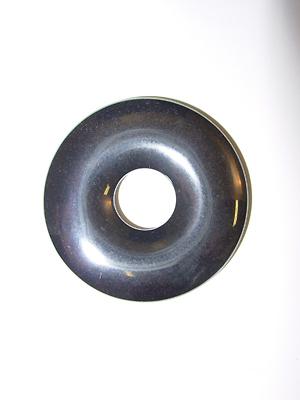 Hematite - Natural Stone Donut