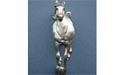 Galloping Horse Drawer Pull - Lead Free Pewter