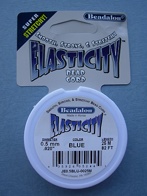 .5mm Blue Elasticity 25M per roll