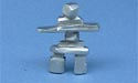 Medium Inukshuk Figurine - Lead Free Pewter