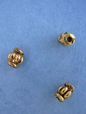 Melon Bead - Gold Plt. - Base Metal
