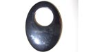Oval Gogo Black Agate