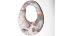 Oval Gogo Crazy Lace Agate