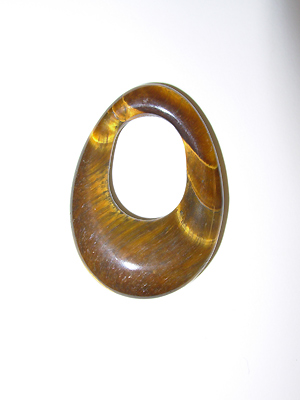 Oval Gogo Tiger Eye