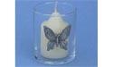 Butterfly Votive Holder - Lead Free Pewter