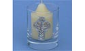 Highland Cross Votive Holder - Lead Free Pewter