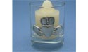 Claddagh - Lead Free Pewter Votive w/ Candle