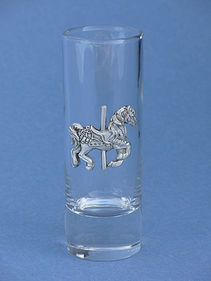 Carousel Horse Shooter - Lead Free Pewter