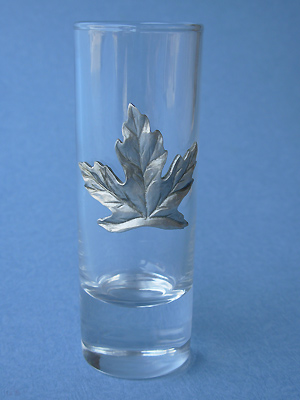 Maple Leaf Shooter - Lead Free Pewter