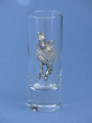 Galloping Horse Shooter - Lead Free Pewter