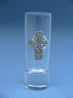 Highland Cross Shooter - Lead Free Pewter
