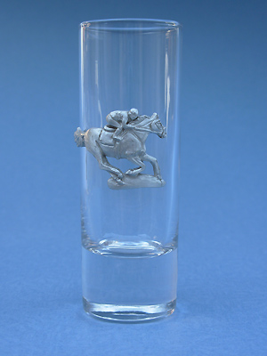 Jockey Shooter - Lead Free Pewter