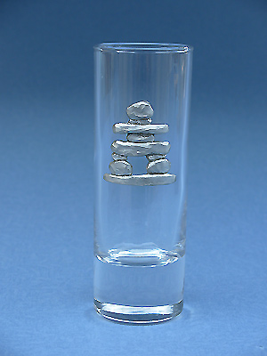 Inukshuk Shooter - Lead Free Pewter