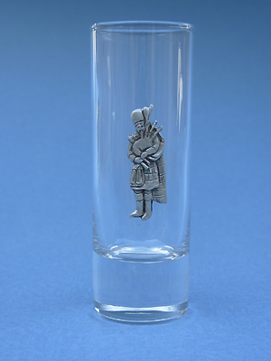 Standing Piper Shooter - Lead Free Pewter
