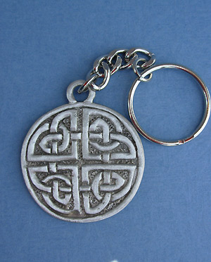 Protection Knot Keychain -  Lead Free Pewter