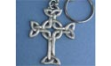 Lendlefoot Cross Keychain - Lead Free Pewter