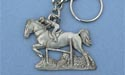 Jumper Keychain - Lead Free Pewter