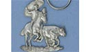 Rodeo Keychain - Lead Free Pewter