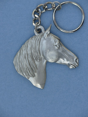 Arab Keychain - Lead Free Pewter