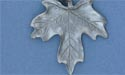 Maple Leaf Keychain - Lead Free Pewter