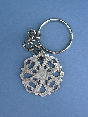 Magic Knot Keychain - Lead Free Pewter