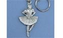 Highland Dancer Keychain - Lead Free Pewter