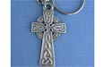 Trinity Cross Keychain - Lead Free Pewter