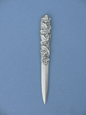 Maple Leaf Letter Opener - Lead Free Pewter