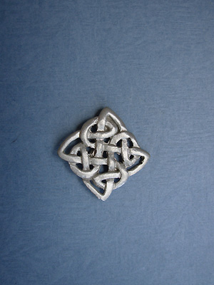 Transformation Knot Lapel Pin - Lead Free Pewter
