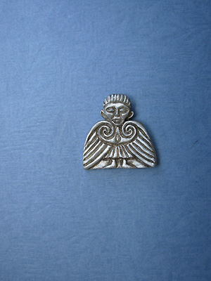 Clonmacnoise Angel Lapel Pin - Lead Free Pewter