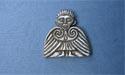 Clonmacnoise Angel Lapel Pin - Lead Free Pewter