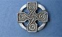 Cross of Four Seasons Lapel Pin - Lead Free Pewter
