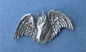 Angel Horse Lapel Pin - Lead Free Pewter