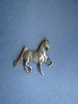 American Saddlebred Lapel Pin - Lead Free Pewter