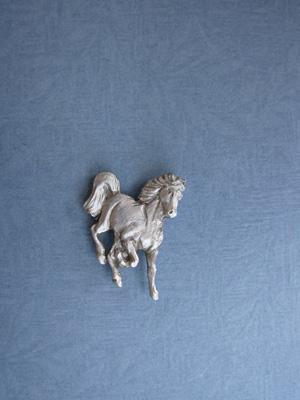 Frisky Foal Lapel Pin - Lead Free Pewter