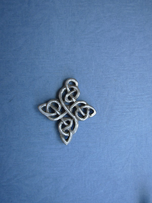 The Happiness Knot Lapel Pin - Lead Free Pewter